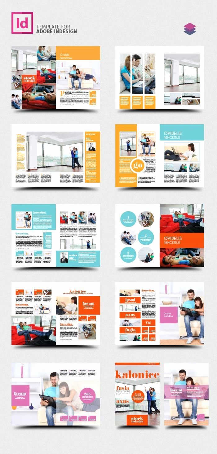 Product Catalogue Template Free Lovely Free Indesign Pro Magazine Template Kalonice