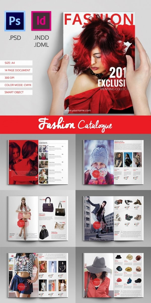 Product Catalogue Template Free Luxury 25 Professional Catalog Design Templates
