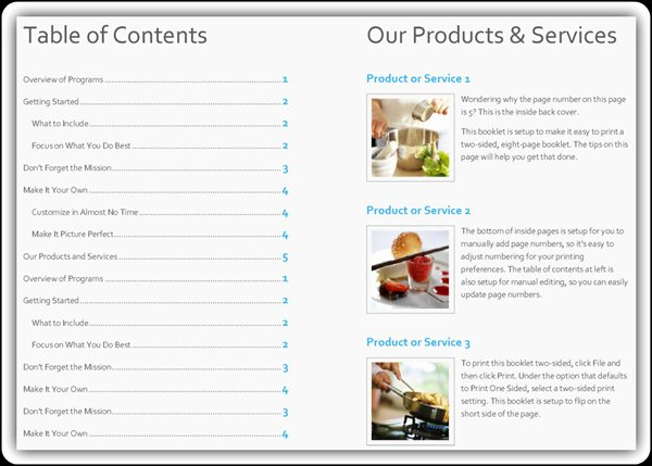 Product Catalogue Template Free New Free Product Catalog Template Word