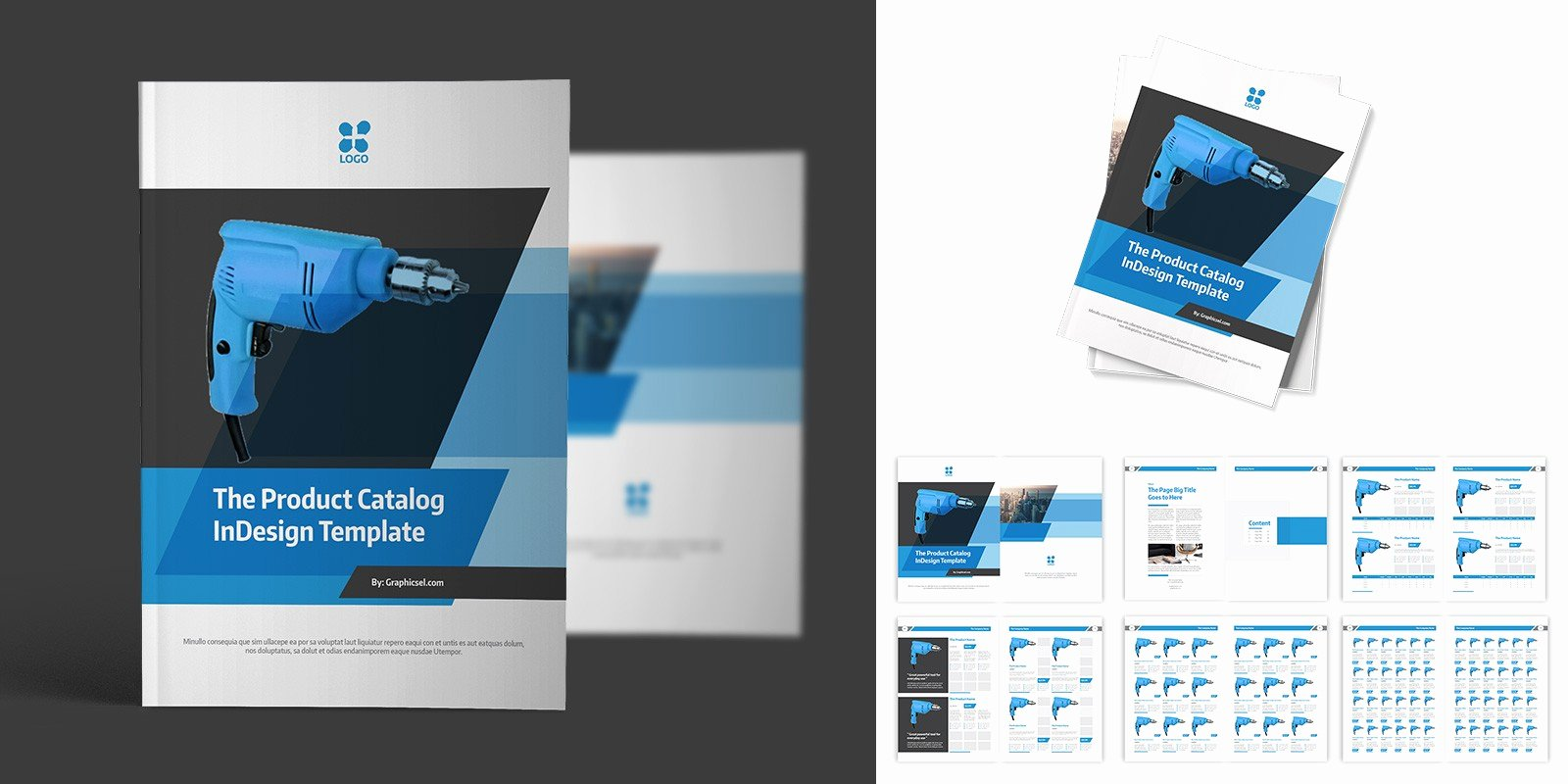 Product Catalogue Template Free Unique Product Catalog Indesign Template