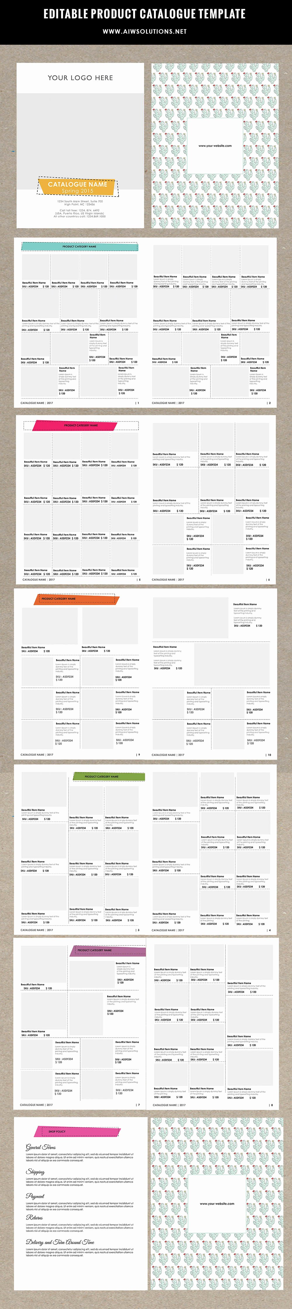 Product Catalogue Template Free Unique Product Catalog Template for Hat Catalog Shoe Catalog