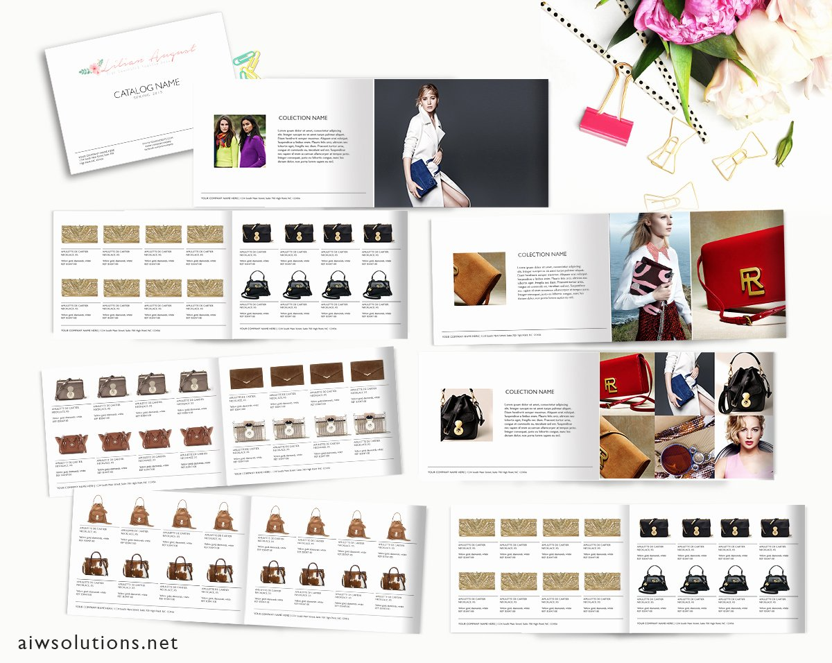 Product Catalogue Template Free Unique wholesale Catalog Template Product Catalog Indesign
