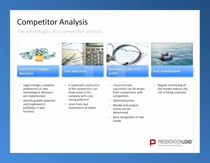 Product Competitive Analysis Template Unique Petitor Product Analysis Template Petitive Best