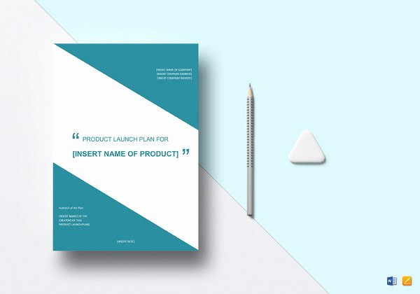 Product Launch Marketing Plan Template Luxury Marketing Plan Template 65 Free Word Excel Pdf format