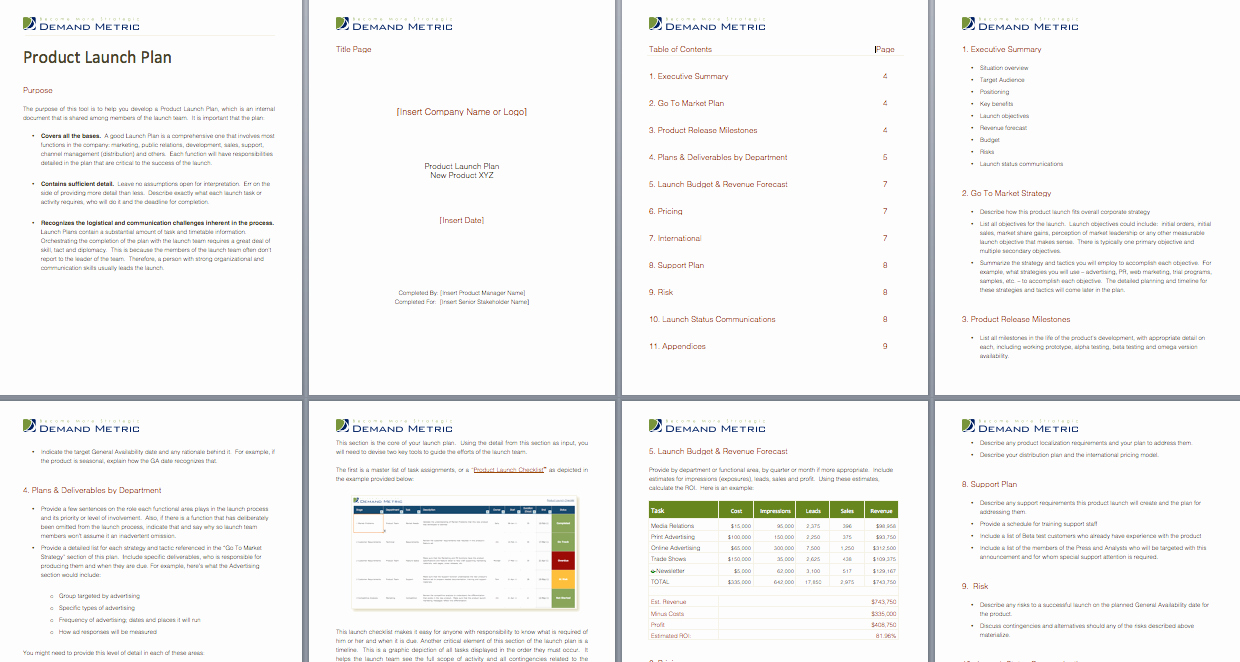 Product Launch Plan Template Fresh Products tools and Templates On Pinterest