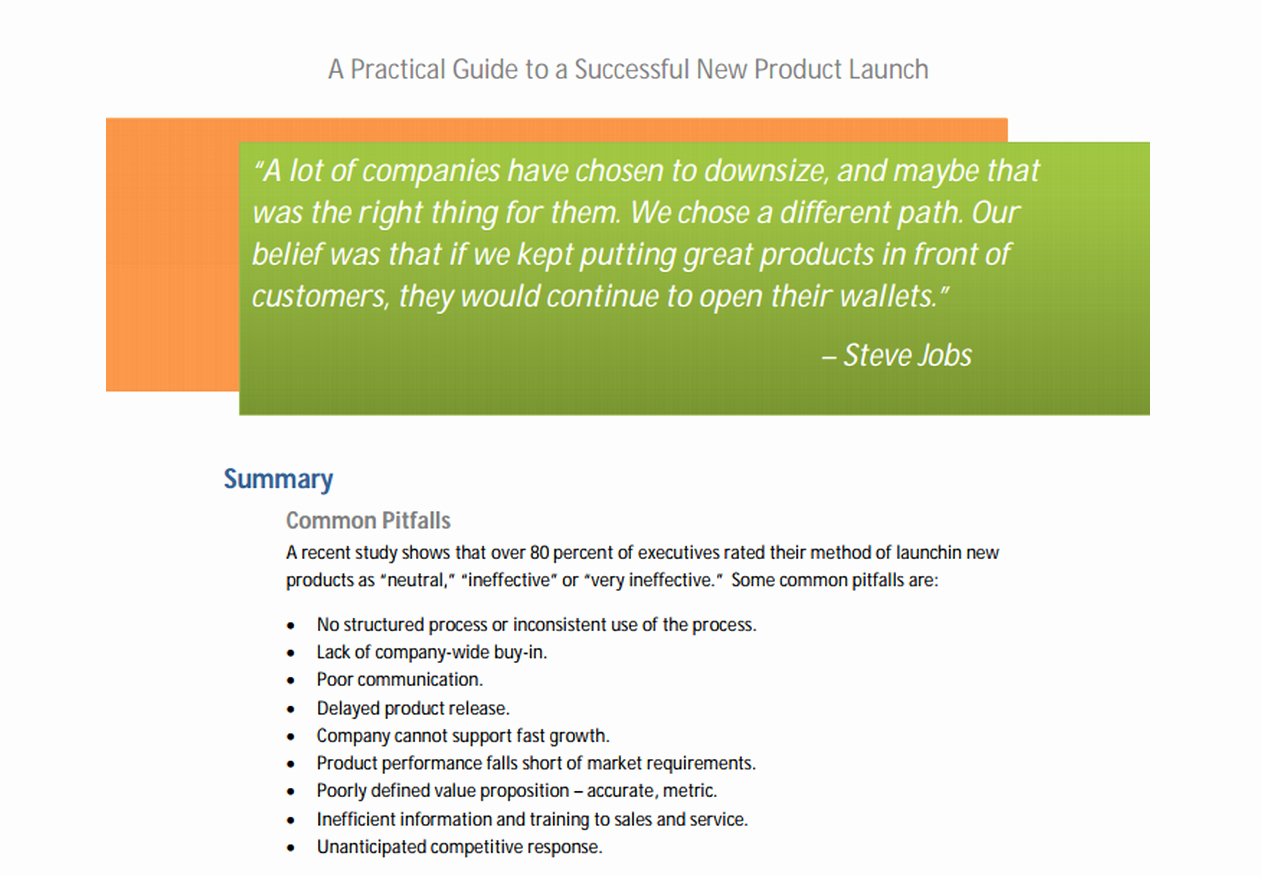 Product Launch Plan Template New Launching Your Spaceship the Essentials Of Product Launch