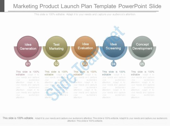 Product Launch Plan Template New Marketing Product Launch Plan Template Powerpoint Slide
