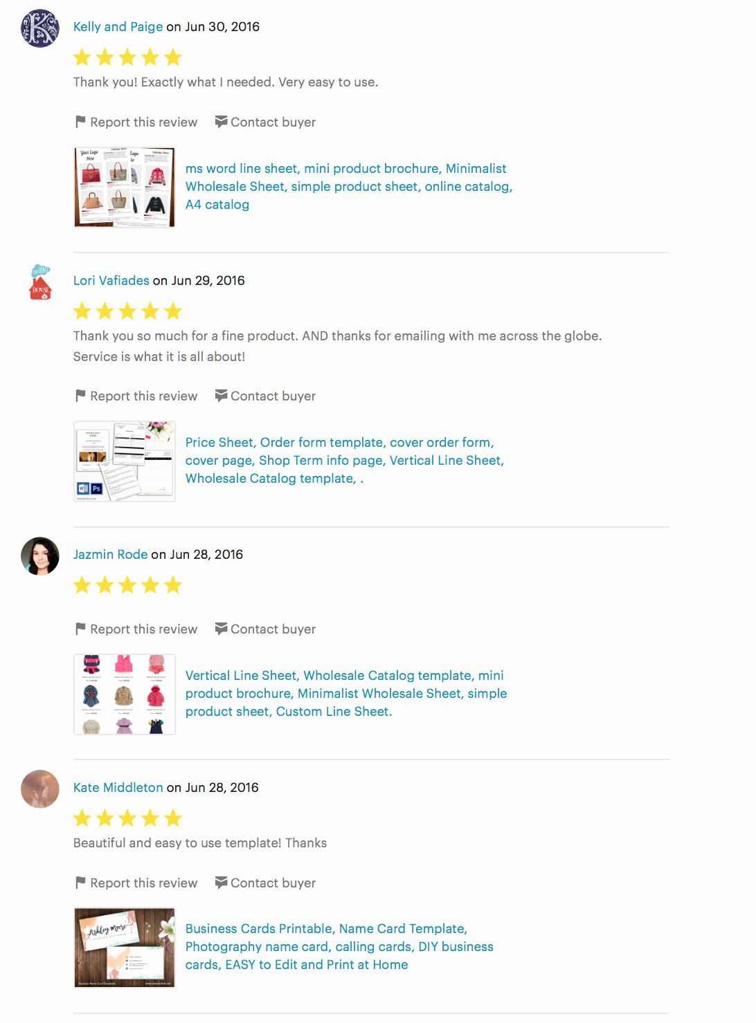 Product Line Card Template Awesome Customer Reviews