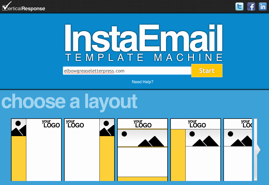 Product Promotion Email Template Awesome Verticalresponse Launches Free Instaemail Email Template