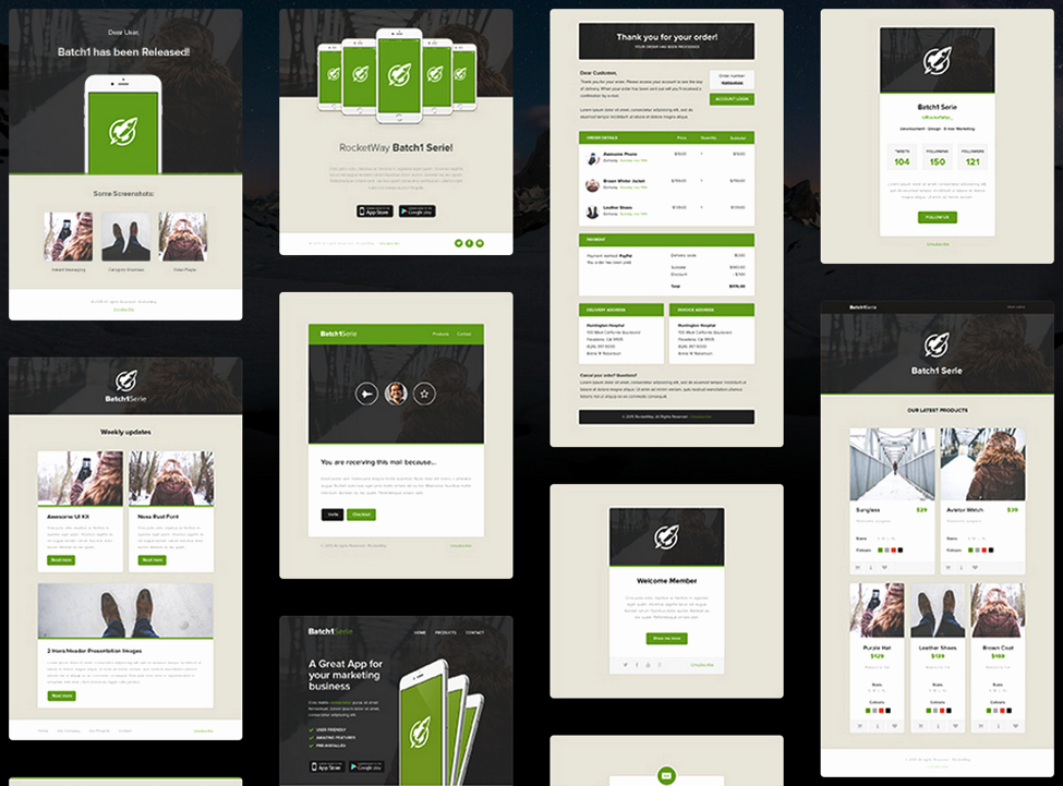 Product Promotion Email Template Elegant Customize Your Email Marketing with Fresh Email Templates