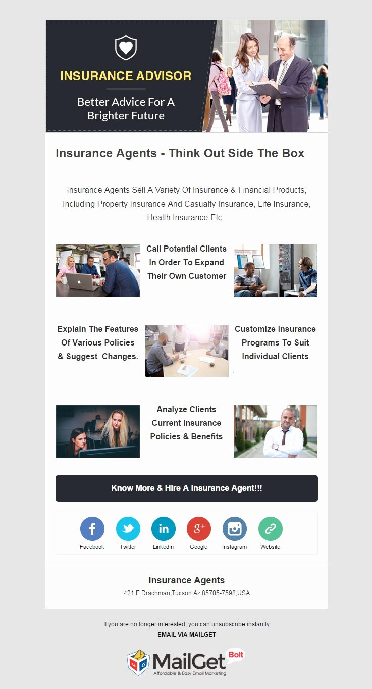 Product Promotion Email Template Fresh 10 Best Insurance Email Templates [insurance Agencies