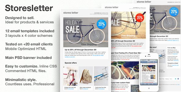 Product Promotion Email Template Fresh 35 Best Responsive HTML Email Templates for Newsletters 2019