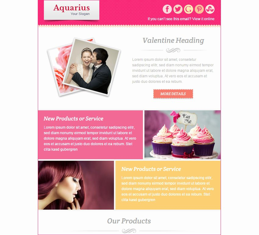 Product Promotion Email Template New 15 Best Valentines Emails Newsletter Templates