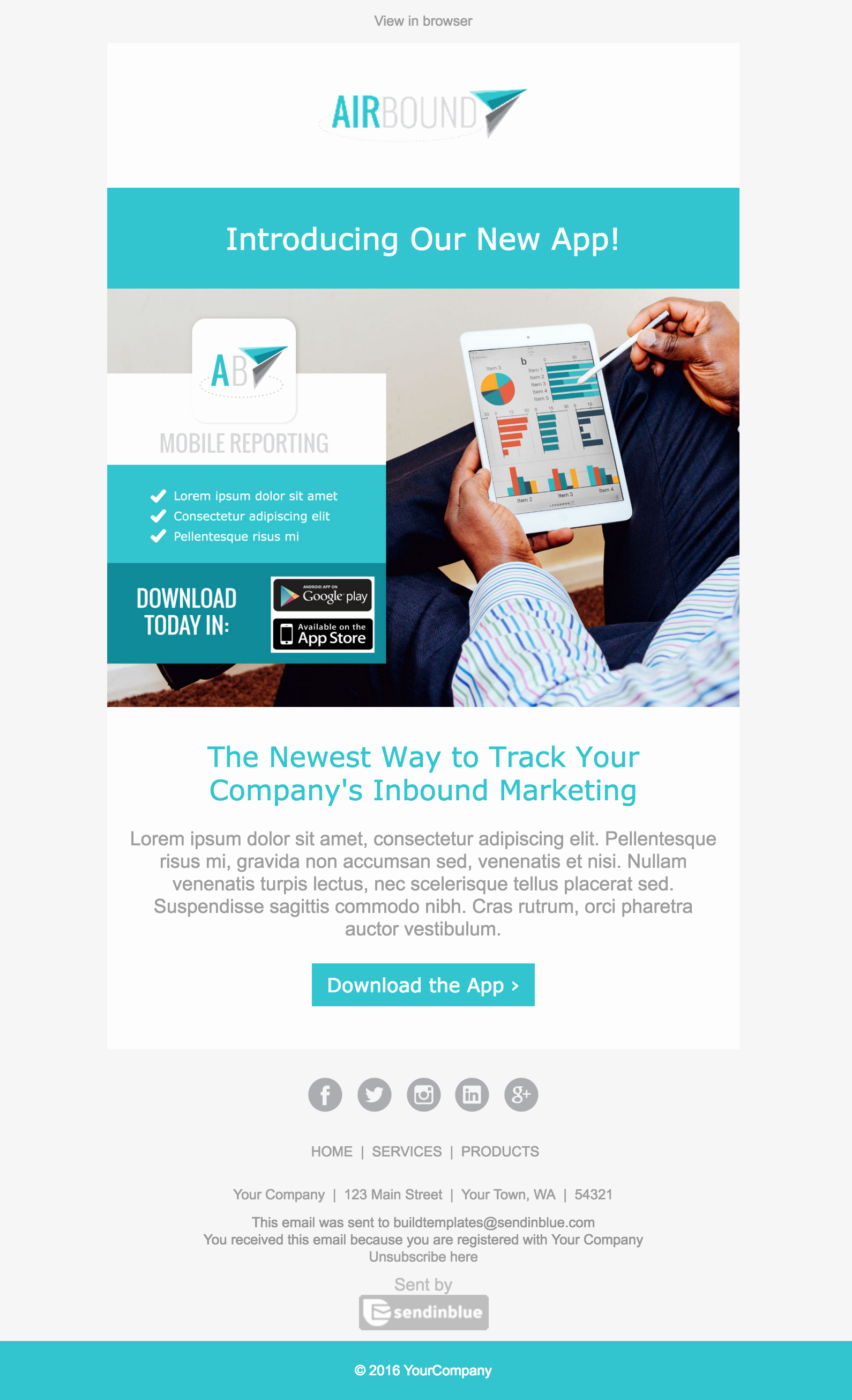 Product Promotion Email Template New top 8 B2b Email Templates for Marketers In 2017