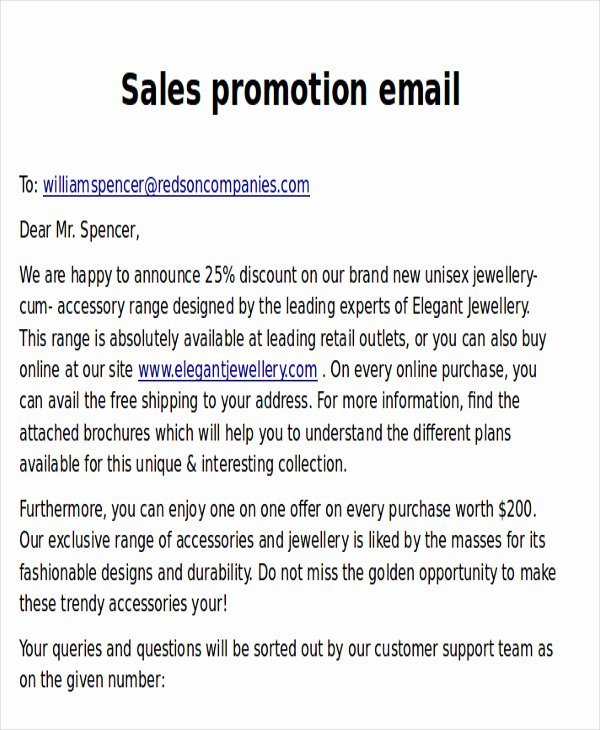 Product Promotion Email Template Unique 9 Promotional Email Templates Free Psd Eps Ai format
