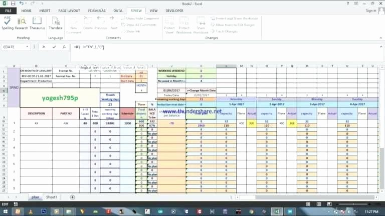 Production Planning Excel Template Lovely Production Planning Excel Template Production Planning