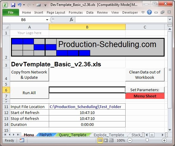 Production Schedule Excel Template Inspirational Excel Data In the Cloud