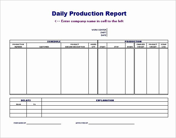 Production Schedule Excel Template Lovely Daily Production Schedule Template Invitation Template
