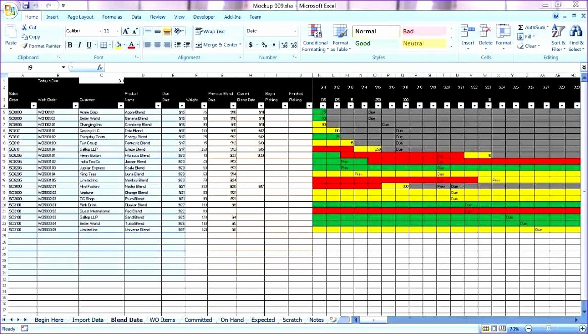 Production Schedule Excel Template Luxury 8 Bud Excel Template Exceltemplates Exceltemplates