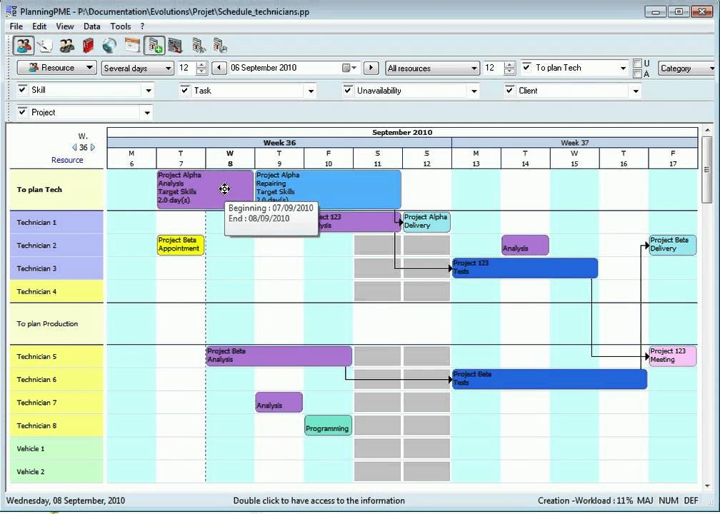 Production Schedule Excel Template Luxury Production Planning Gantt Chart English