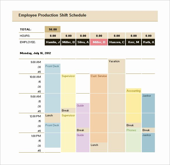 Production Schedule Template Excel Best Of 29 Production Scheduling Templates Pdf Doc Excel