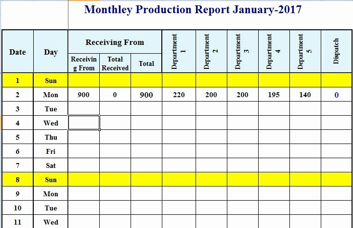 Production Schedule Template Excel Inspirational format Of Production Schedule Plan Template In Excel