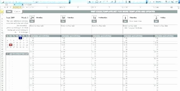 Production Schedule Template Excel New Excel Production Schedule Template to Production