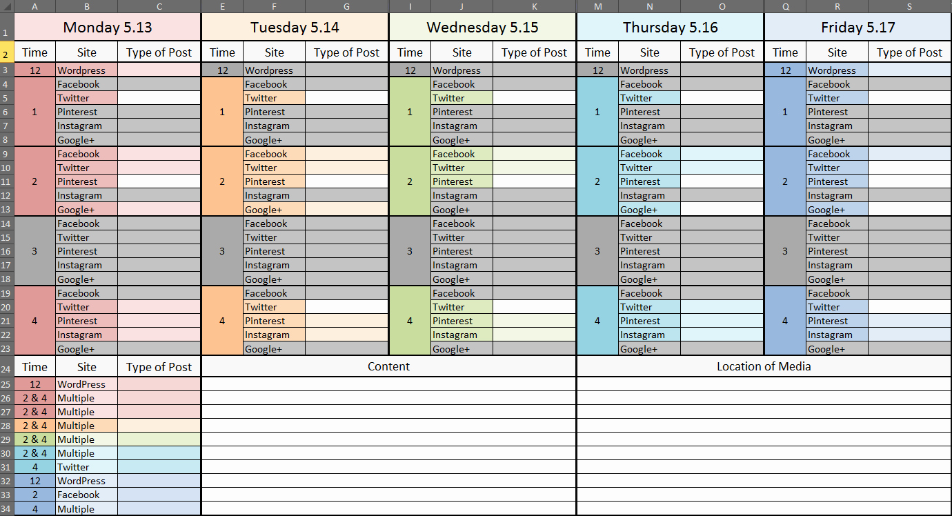 Production Schedule Template Excel New Production Schedule Template Excel
