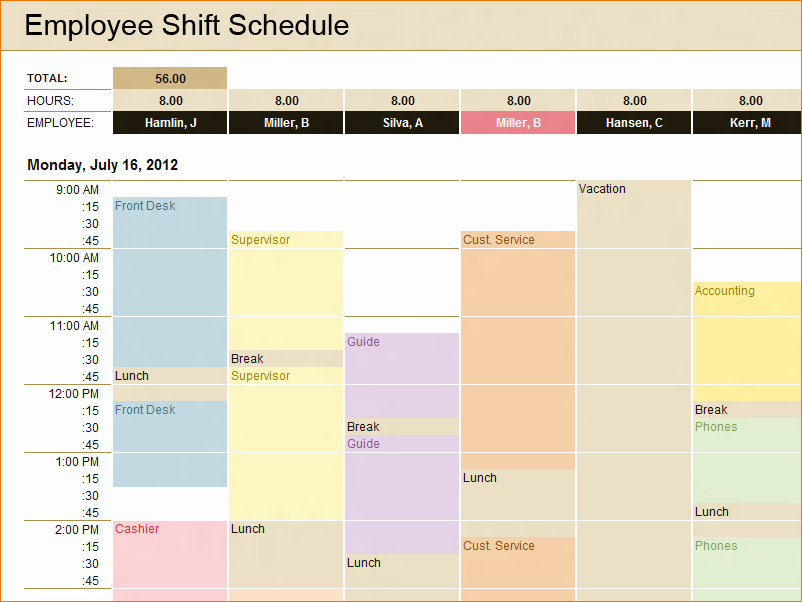 Production Scheduling Excel Template Fresh 3 Microsoft Schedule Template