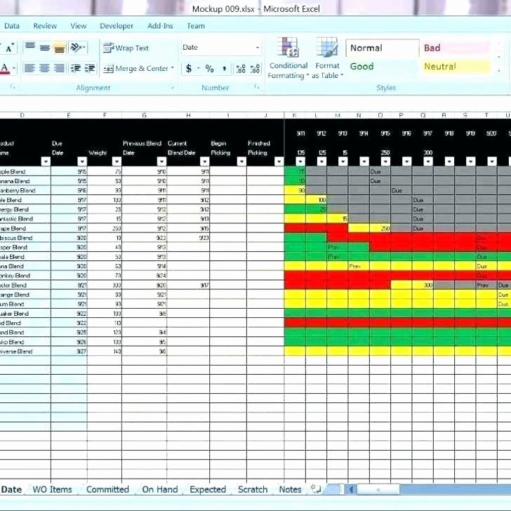 Production Scheduling Excel Template Fresh Production Planning and Control Excel Template Schedule
