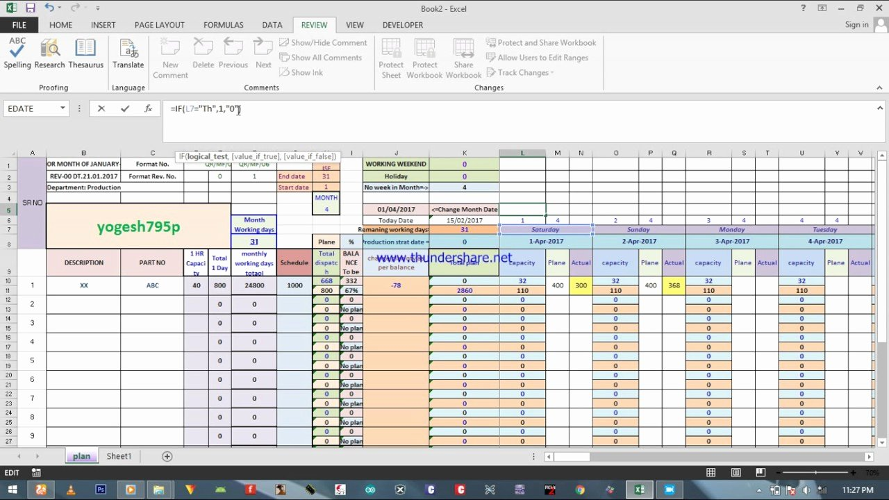 Production Scheduling Excel Template Luxury How Create Capacitive Production Planning Excel Sheet