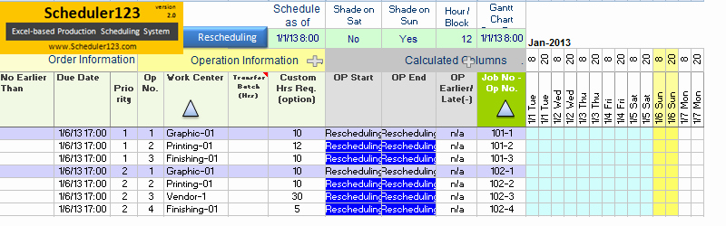 Production Scheduling Excel Template New Generate Daily Production Schedule Report Template Excel