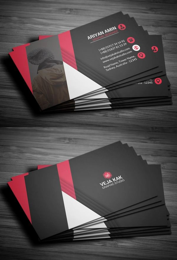 Professional Business Card Template Awesome Professional Business Card Template Businesscards