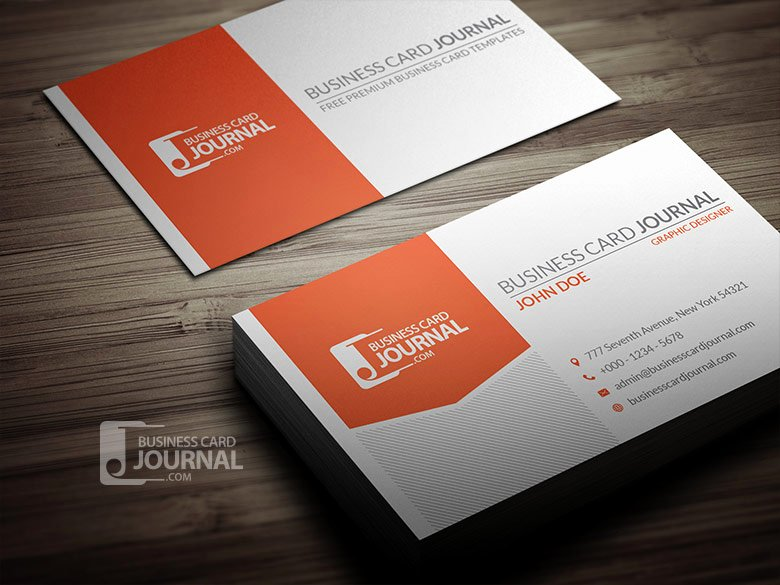 Professional Business Card Template Awesome Professional Corporate Business Card Template