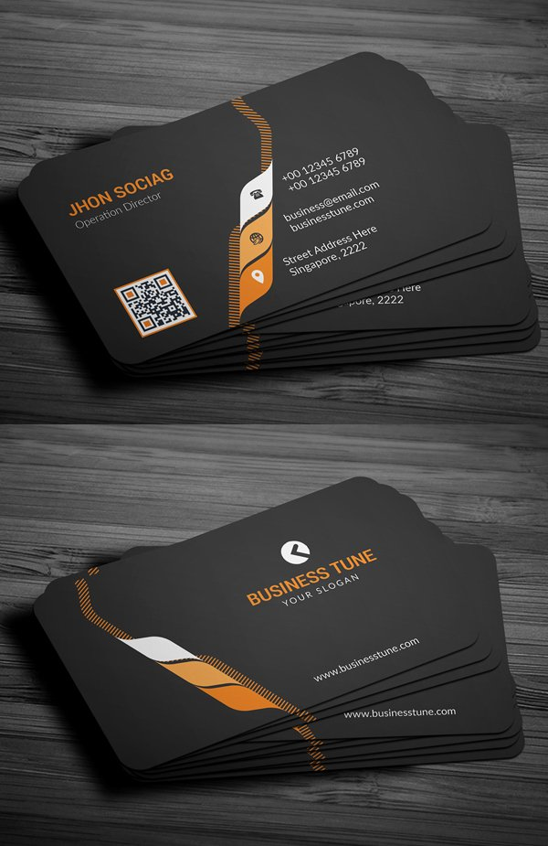 Professional Business Card Template Beautiful 27 New Professional Business Card Psd Templates