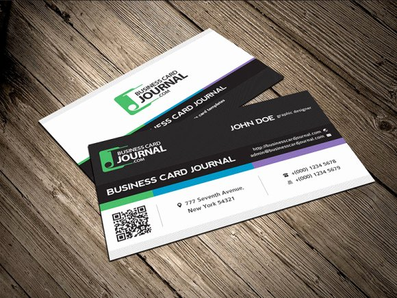 Professional Business Card Template Best Of Free Professional & Modern Corporate Business Card