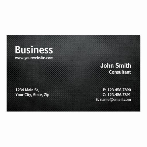 Professional Business Card Template Best Of Professional Modern Simple Puter Repair Black Double