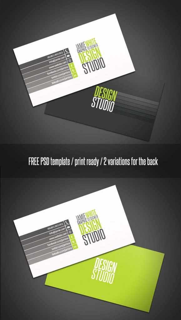 Professional Business Card Template Elegant 20 Best Free Shop Templates to Download Creative Beacon