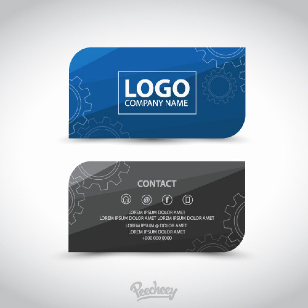 Professional Business Card Template Elegant Professional Business Card Template
