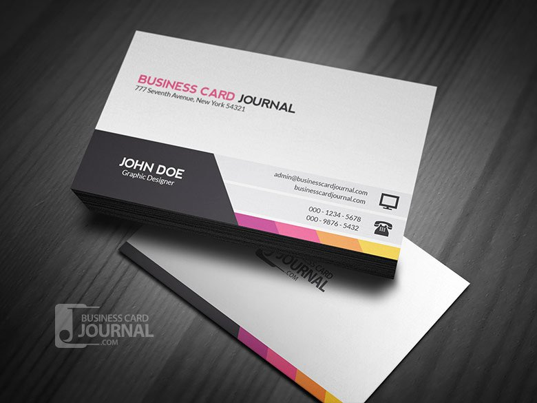 Professional Business Card Template Fresh 20 Professional Free Business Card Templates and Mockups
