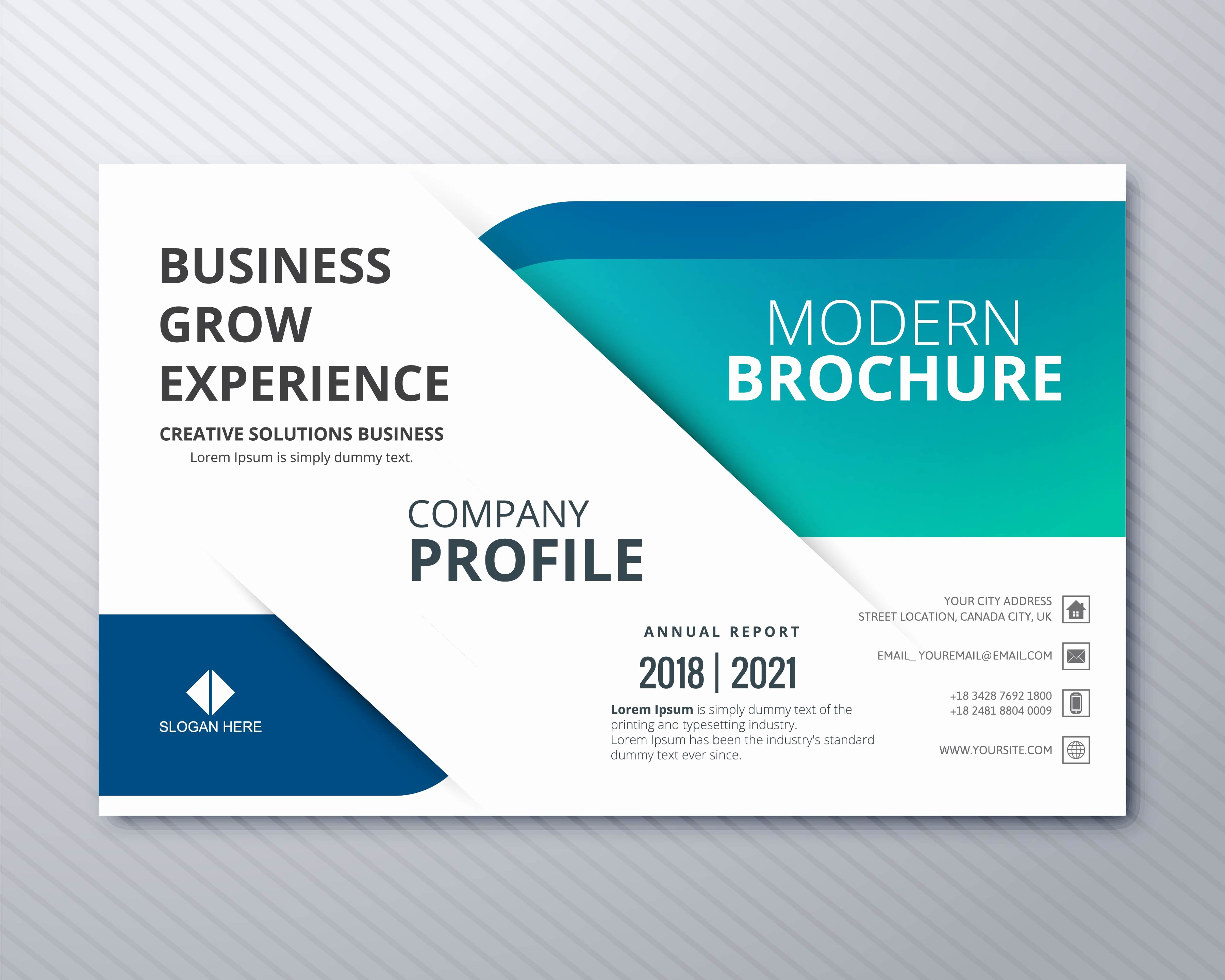 Professional Business Card Template Fresh Professional Business Flyer Template Card Colorful Design