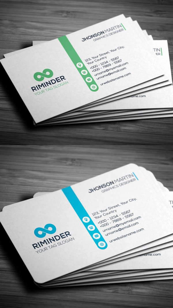 Professional Business Card Template Inspirational 25 Professional Business Cards Template Designs