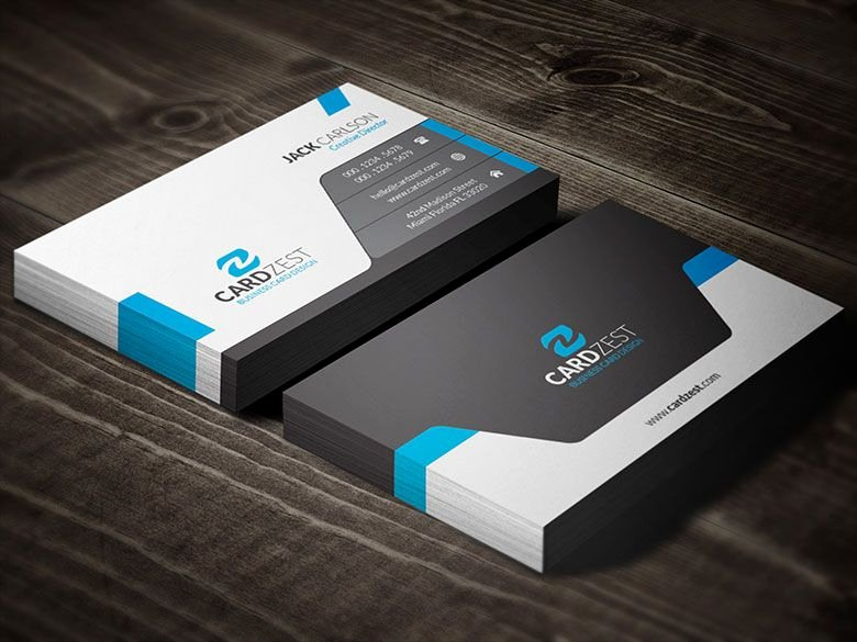 Professional Business Card Template Lovely Download Sleek Professional