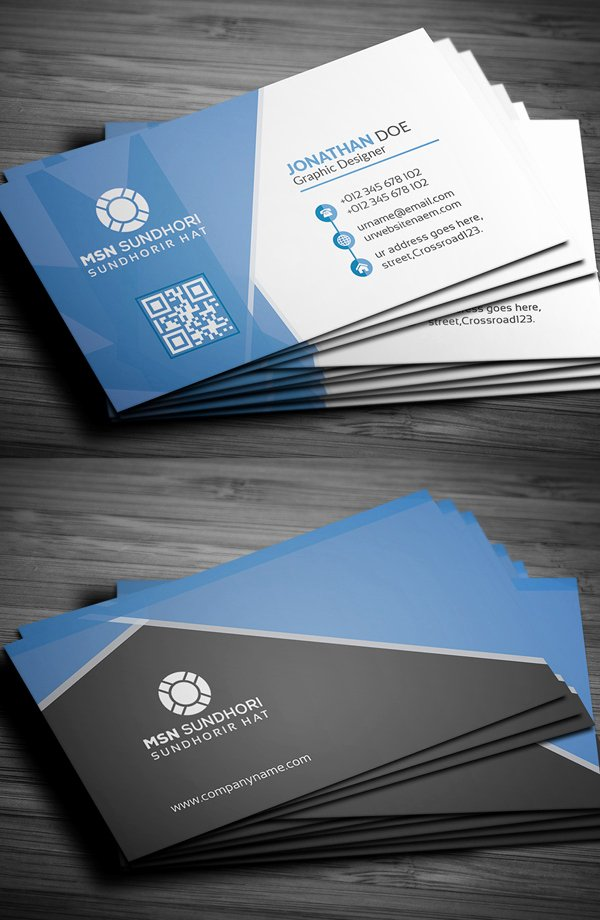 Professional Business Card Template New 25 Professional Business Cards Template Designs