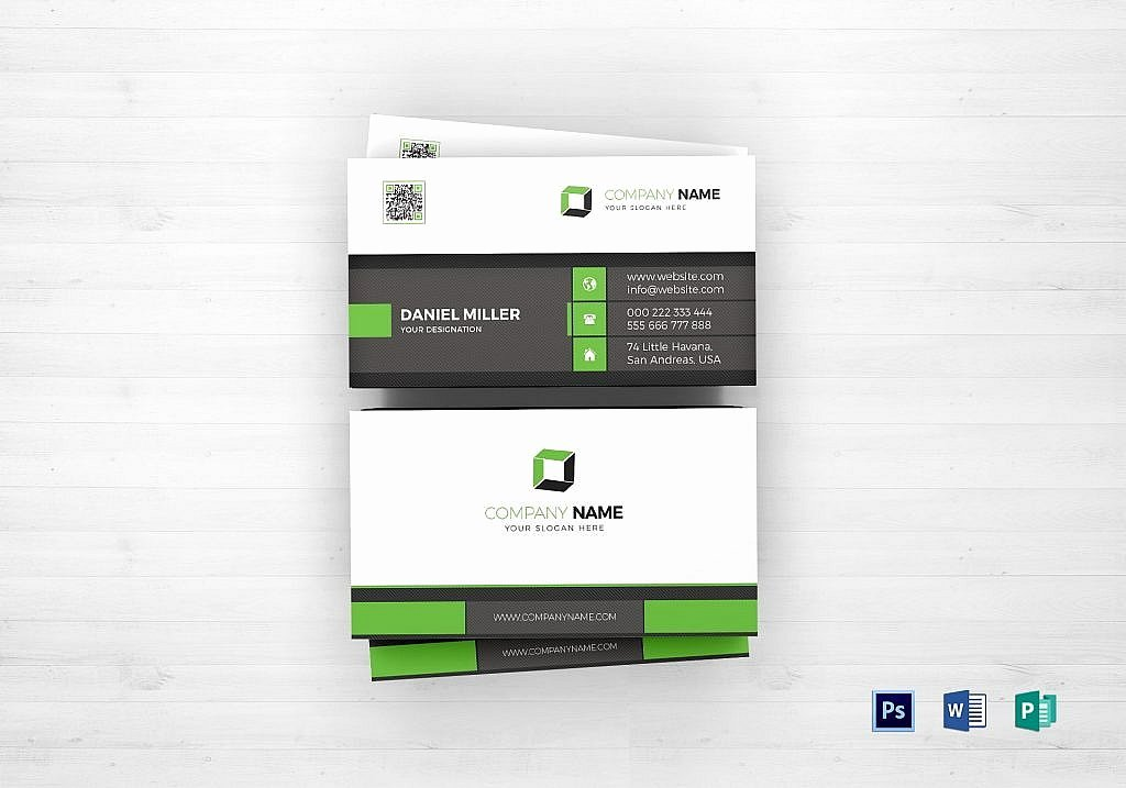 Professional Business Card Template New 55 Beautiful Business Card Designs