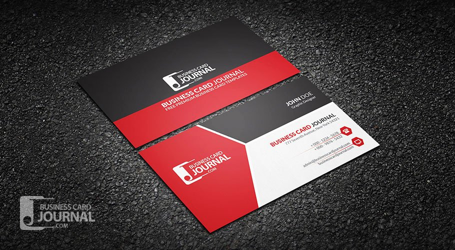 Professional Business Card Template New Free Clean & Professional Corporate Business Card Design