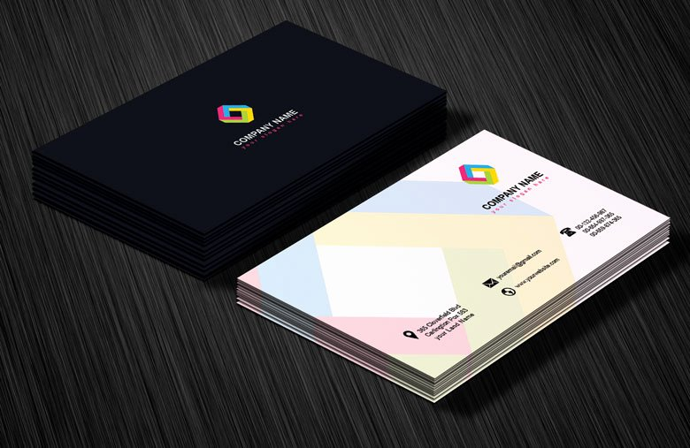 Professional Business Card Template New Professional Business Card Design Template Free