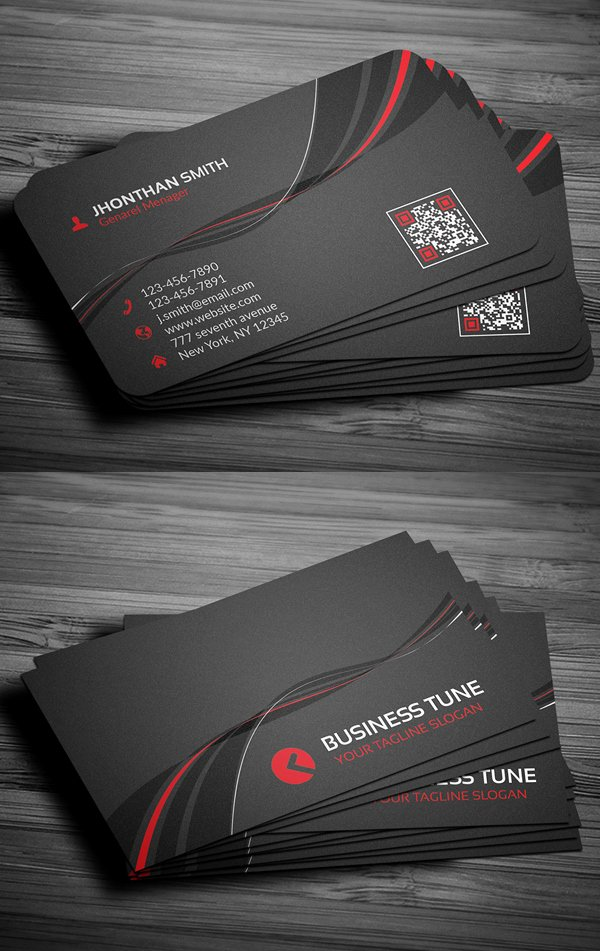 Professional Business Card Template Unique 27 New Professional Business Card Psd Templates
