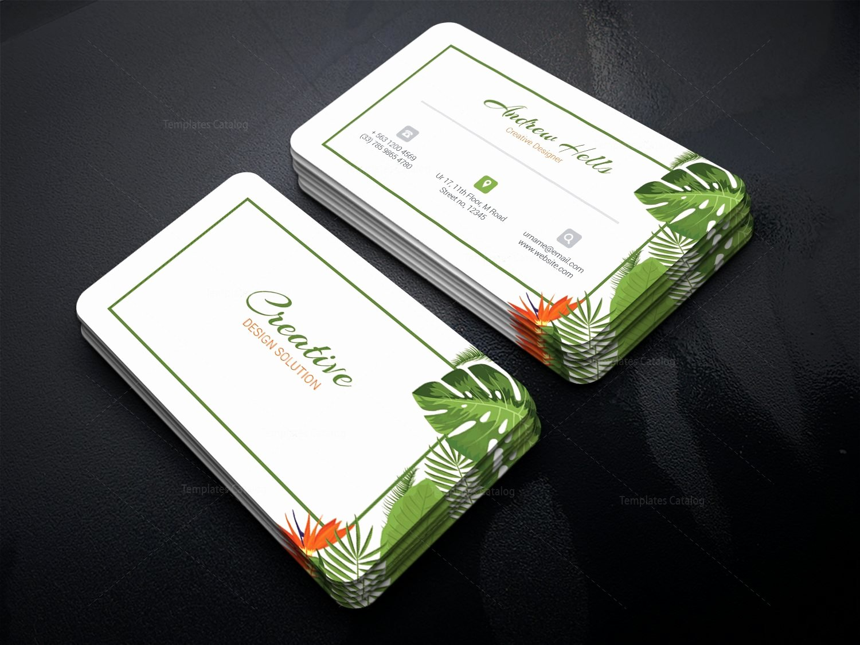 Professional Business Card Template Unique Medusa Professional Corporate Business Card Template