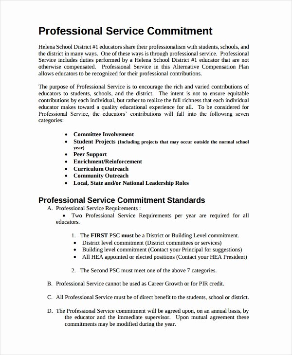 Professional Compensation Plan Template Elegant Pensation Plan Template 8 Free Word Document